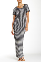 James Perse Tucked Maxi Dress