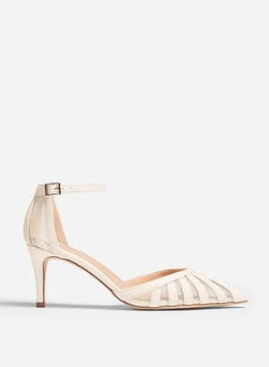 Dorothy Perkins Womens White 'Demy' Court Shoes, White