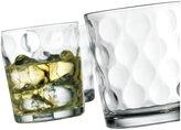 Home Essentials Eclipse 13oz DOF Glass, Set of 4