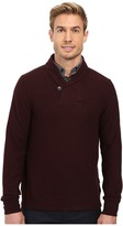 Perry Ellis Pullover Shawl Collar Knit