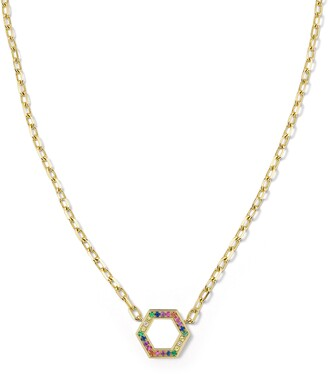 Harwell Godfrey Rainbow Pendant Necklace