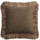 Pier 1 Imports Confetti Fringe Brown Pillow