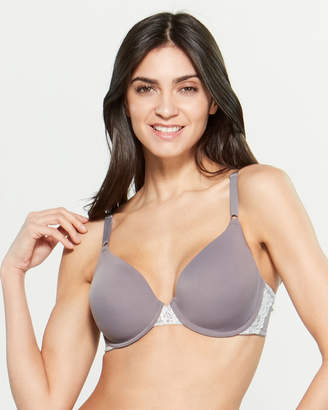 Maidenform Lace Trim Underwire T-Shirt Bra