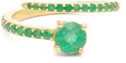 Ileana Makri Grass Seed Emerald & 18kt Gold Ring - Green Gold
