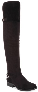 American Rag Adarra Wide-Calf Over-The-Knee Boots, Created for Macy's Women's Shoes