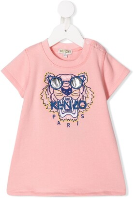 Kenzo Wax Tiger dress