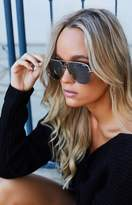 Quay X Desi High Key Sunglasses Silver