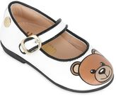 Moschino Teddy Bear Print Nappa Leather Flats