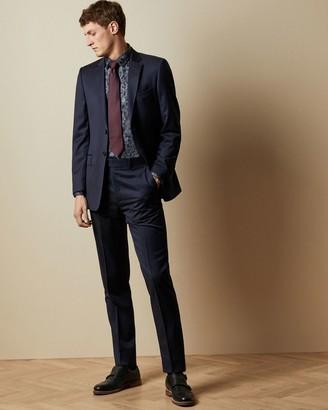Ted Baker Debonair Classic Fit Wool Trousers