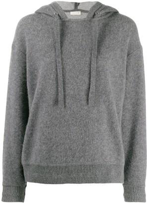 MACKINTOSH Grey Cashmere Blend Hooded Sweatshirt | WCS-1004