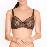La Redoute Collections Embroidered Full Cup Bra