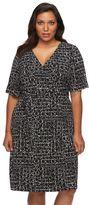 Apt. 9 Plus Size Faux-Wrap Dress
