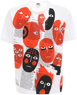 Junya Watanabe Printed Cotton Jersey T-Shirt