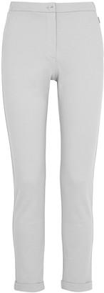 MAX MARA LEISURE Falasco grey slim-leg jersey trousers