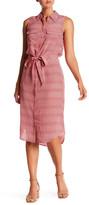 Equipment Tegan Sleeveless Print Silk Dress