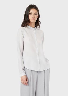 Giorgio Armani Woven Silk Shirt