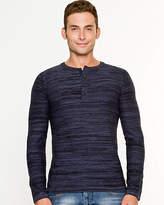 Le Château Space Dye Cotton Blend Sweater