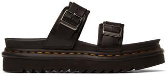 Dr. Martens Black Myles Brando Sandals