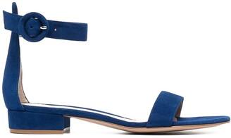 Gianvito Rossi Portofino ankle strap sandals