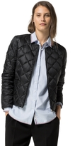 Tommy Hilfiger Final Sale-Crisscross Collarless Puffer