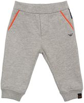 Armani Junior Cotton Jogging Pants
