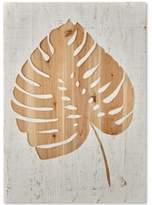 Graham & Brown Tropical Leaf Wood Panel Wall Art