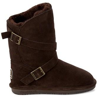 BearPaw Prim III Faux Fur-Lined Suede Boots