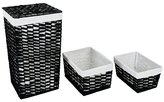Habitat Pedro Laundry Bin & 2 Baskets