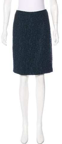 Donna Karan Wool Knee-Length Skirt w/ Tags