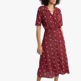 Thumbnail for your product : La Redoute Collections Floral Midaxi Shirt Dress
