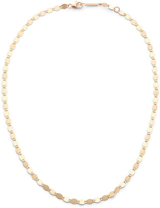 Lana 14k Large Nude Chain Choker Necklace