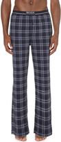 HUGO BOSS Check-print cotton pyjama bottoms