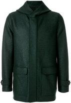 Harris Wharf London - parka jacket - men - Polyester/Virgin Wool - 46