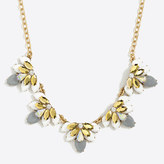 J.Crew Factory Moon flower necklace