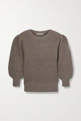 Reformation Moneta Ribbed Alpaca Sweater