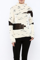 RD Style Color Block Sweater