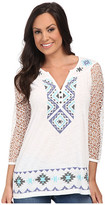 Roper 9788 Cotton Poly Slub Jersey Tunic
