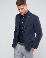 Selected Skinny Knitted Blazer