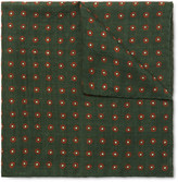Anderson & Sheppard - Floral-Print Wool Pocket Square
