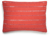 """Westpoint Home Beaded Coral Pillow, 12"""" x 16"""""""