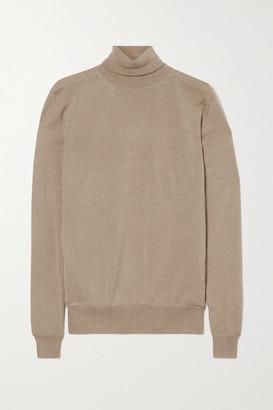 Stella McCartney - Virgin Wool Turtleneck Sweater - Beige