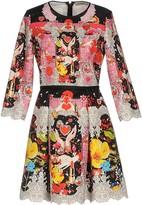 Piccione Piccione Short dresses - Item 34738044