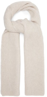 Joseph Ribbed Scarf - Cream