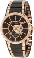 Edox Men's 72011 357RN NIR Les Bemonts Hand Winding White Dial Watch
