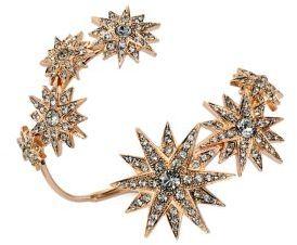 Ca&Lou Etoile Crystal Coil Cuff Bracelet
