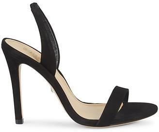 Schutz Luriane Suede Slingback Sandals
