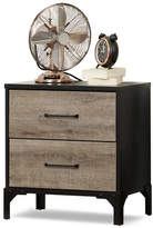 South Shore Valet Two-Drawer Nightstand