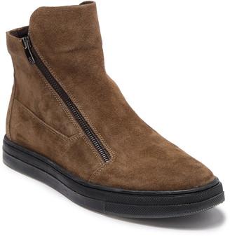 Kenneth Cole Reaction Side Zip Suede Sneaker