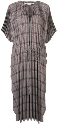Stella McCartney Check Pattern Dress