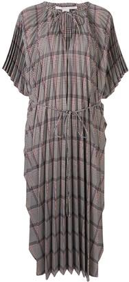Stella McCartney check pattern dress